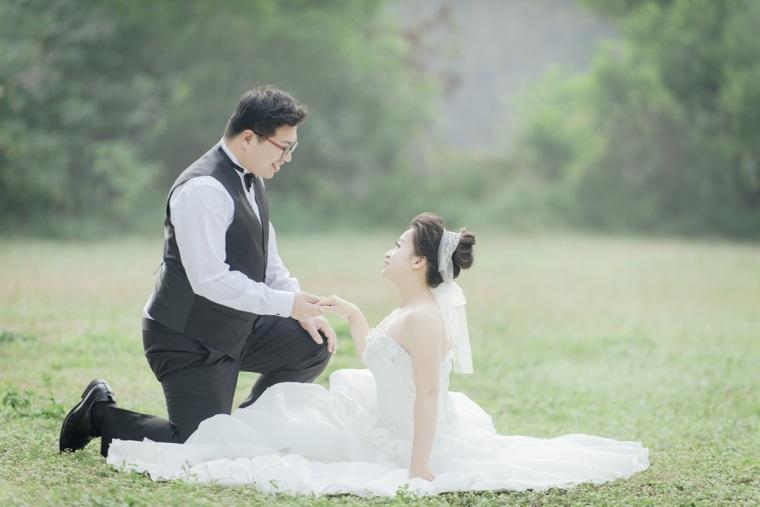 草坪婚紗照