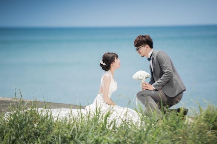 海邊婚紗照-高雄婚攝Loyal