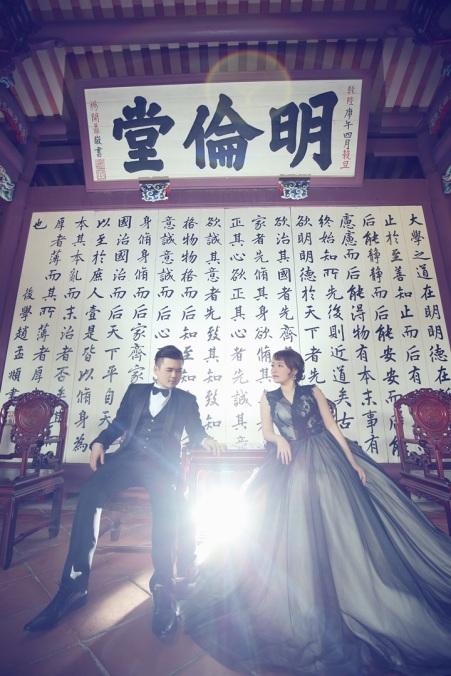 中式建築婚紗攝影-高雄婚攝Loyal
