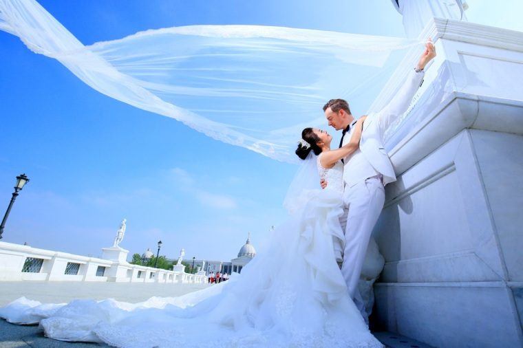 婚紗外拍景點:奇美博物館-高雄婚攝Loyal
