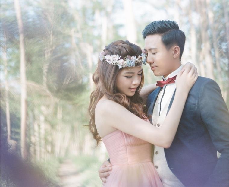 森林系婚紗照-高雄婚攝LOYAL